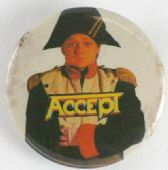 Accept - 'Napoleon' Button Badge